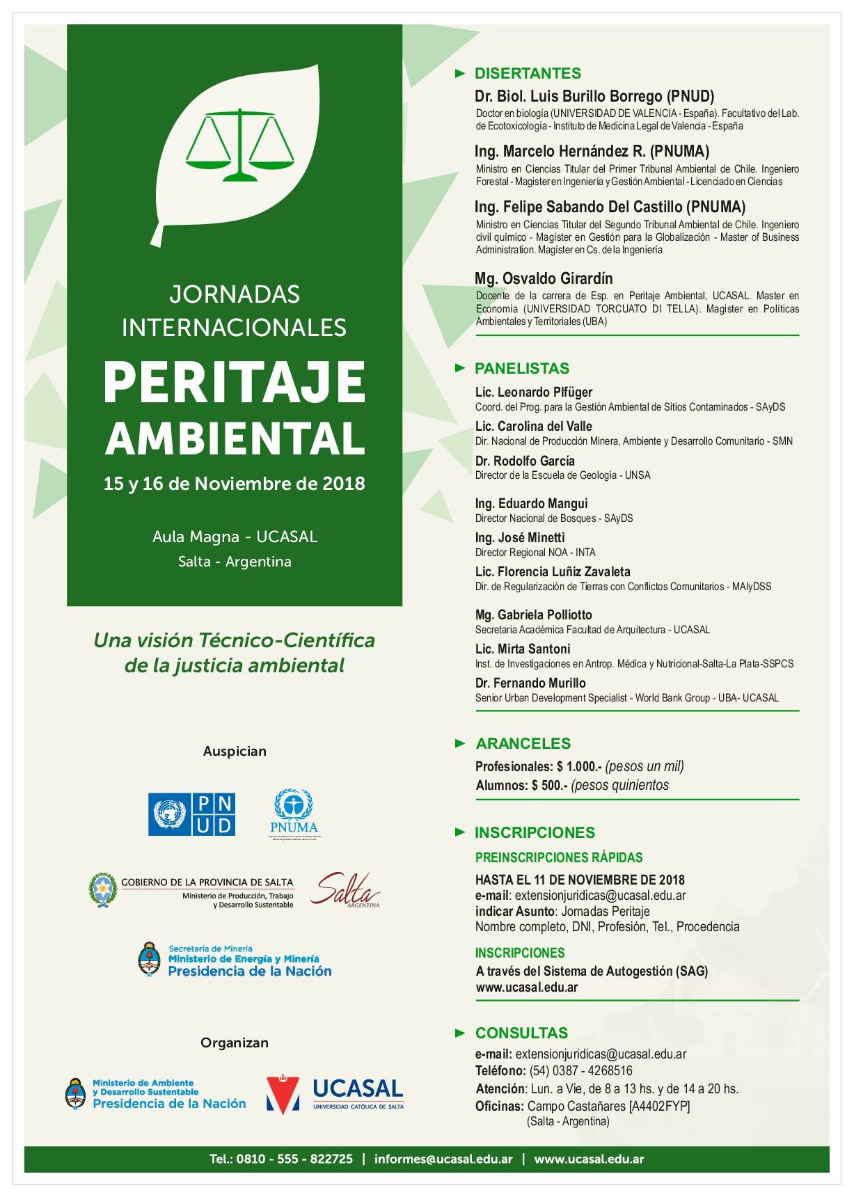 Flyer - JORNADAS INTERNACIONALES DE PERITAJE AMBIENTAL-001